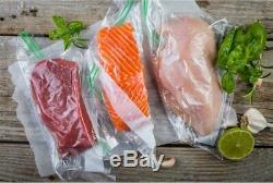 16 Rolls 11X50' Embossed Vacuum Sealer Reusable Bag Food Saver BPA Free 4 Mil