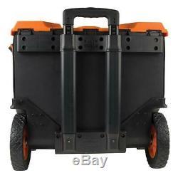 22 in. Tradesman pro tool master rolling tool bag klein tools pro