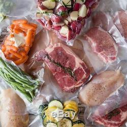 24 Food Magic Seal 8x50 Rolls 4 mil Vacuum Sealer Storage Bags! Great $$ Saver