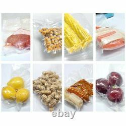 4-20 Rolls 8 x 50' Vacuum Sealer Bags Embossed FoodSaver Storage Bag 4 Mil