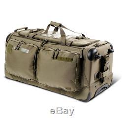 5.11 Tactical SOMS 3.0 126L Rolling Duffel Tavel Gear Bag Ranger Green 56476