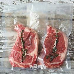 8-8x50' Rolls Food Magic Seal Vacuum Sealer Storage Bags! Huge $$ saver