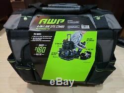AWP 18-in 4 Bags Combo Zippered Rolling Closed Tool Bags Professional Grade! NEW