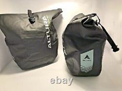 Altura Ultralight Vortex 30 Roll up Pannier Bag Pair Black