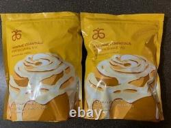 Arbonne Essentials 2 Cinnamon Roll Protein Shake Mix 2LB Bags (Powder)