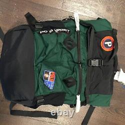 BNWT Ralph Lauren Polo Sport Mountain Sportsman Bag Limited Edition Roll-top Bag