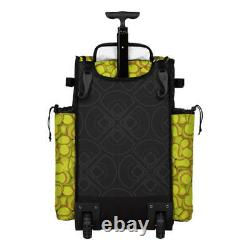 Boombah Superpack 2.0 Rolling Wheeled Softball Bat Cleats Gear Bag Pack/Backpack