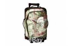 Brand New The North Face Rolling Thunder 22 Top Map Wheeled Duffel Bag Suitcase
