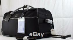 Bric's Pronto 28 Rolling Holdall Duffle Bag Brr04513 Black