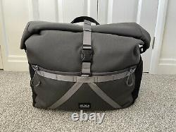 Brompton Borough L Roll Top Bag. Grey. Nearly new