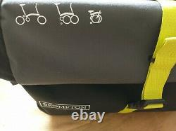 Brompton Roll Top Bag Luggage with Frame & Rain Cover
