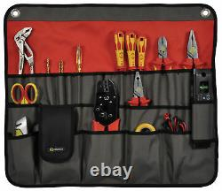 CK Magma MA2718 30 Pocket Tool Roll Bag Case Organiser for Electricians