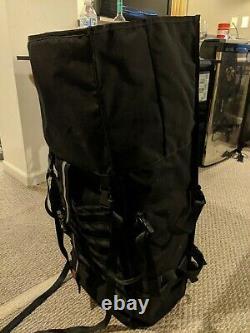 Chrome Industries Pro Barrage Waterproof Roll-Top Satchel Backpack Black Black