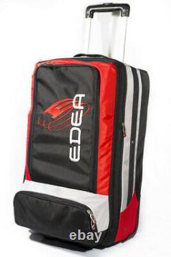 EDEA Skate SUPER Rolling Trolley 2 Pair Bag (Black)