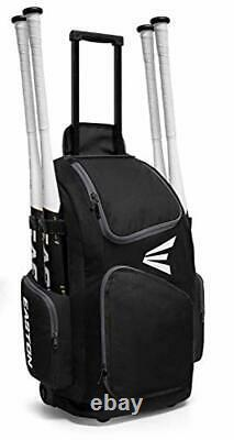 Easton Traveler Baseball/Softball Wheeled Backpack Rolling Bat Bag Pack 4 Colors