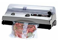 European Magic Vac Prestige Roll Household Food Vacuum Sealer Free Rolls and Bag