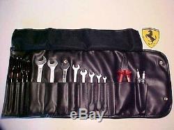 Ferrari Tool Kit Roll Bag Wrenches Screwdrivers Pliers 348 355 Testarossa 512 TR