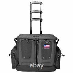 G-Outdoors Tactical Rolling Range Bag Black