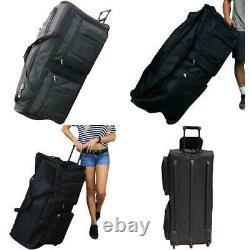 Gothamite 36-Inch Rolling Duffle Bag With Wheels, Luggage Bag, Hockey Bag, Xl Du