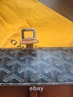 Goyard Watch Roll Montre Voyage Case Backpack Bag Goyardine Tan Brown Boeing