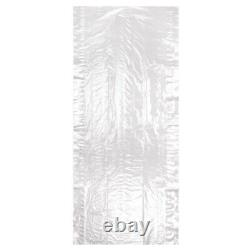 Hangerworld Clear Roll Polythene Garment Covers Clothes Dry Cleaner Ironing Bag