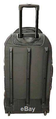 Harley-Davidson Bar & Shield 33 Rolling Wheeled Duffel Travel Luggage Bag 99410