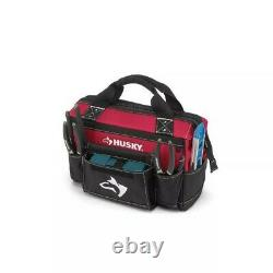 Husky 18-inch Rolling Tool Tote with 16-inch and 14-inch Bonus Bag