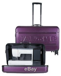 Janome MC15000 MC 15000 MC12000 MC 12000 Hard Roller Case Trolley Rolling Bag