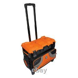 Klein Tools 55473RTB Tradesman Pro 19 Pocket Tool Master Rolling Tool Bag New