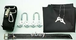 Large Leather Top Case Roll Bag Vespa Primavera 946 LXV GTS GTV Elettrica, Red