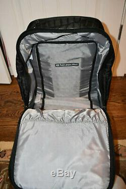 Lug Puddle Jumper Wheelie 2 Quilted Rolling Bag Suitcase Luggage NEW Black