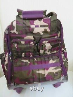 Lug Puddle Jumper Wheelie 2 Travel Rolling Bag Suitcase Luggage Camo $225