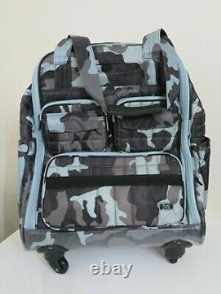 Lug Puddle Jumper Wheelie 2 Travel Rolling Bag Suitcase Luggage Iced Camo $225