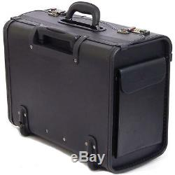 Luggage Laptop Bag Briefcase Case Women Men Leather Computer Best Rolling Mobile