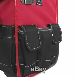 Maleta De Rueda Para Organizar Herramientas Rolling Tool Bag Organizer Handle