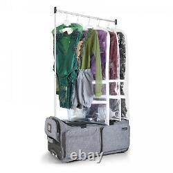 Mavii Costume Rack Rolling Duffel Bag 28 Inch Collapsible