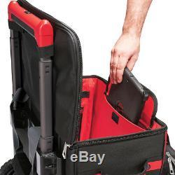 Milwaukee 48-22-8221 18-Inch Heavy Duty Ballistic Rolling Jobiste Work Bag