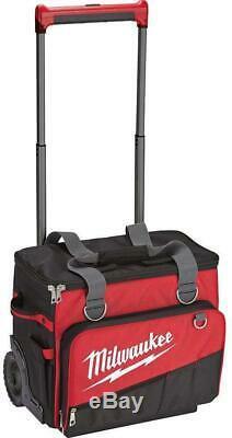 Milwaukee 48-22-8221 Jobsite 18 ROLLING TOOL BAG With Handle