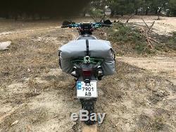 Motorcycle 70 Litre Saddlebag Bag Pants Roll Tailbag Top Luggage Enduro