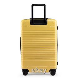 NEW! Arlo Skye The Zipper Check-In Rolling Luggage Bag Yellow