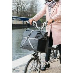 NEW! Borough Roll Top Bag Large in Dark Grey 2020 Collection