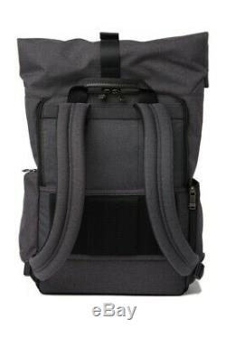 NWT Tumi Birch Roll Top Large Laptop Business Backpack Grey 069395HGYOP