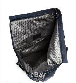 NWT Tumi Men's Alpha Bravo London Roll-Top Backpack Blue Camo Rare $475