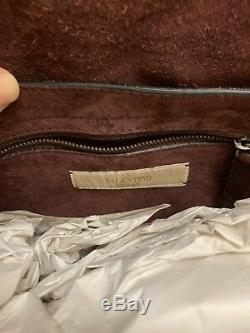 NWT VALENTINO GARAVANI ROCKSTUD ROLLING SHOULDER BAG Retail $4145