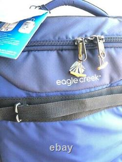 New Eagle Creek Expanse Wheeled Rolling Duffle Luggage Bag Blue Carry ON