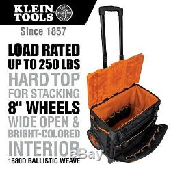 New Klein Tools 55473rtb Tradesman Pro Tool Master Rolling Tool Bag