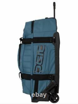 New Ogio Rig 9800 Gear Bag Duffle Rolling Travel Bag, Basalt 5919319og