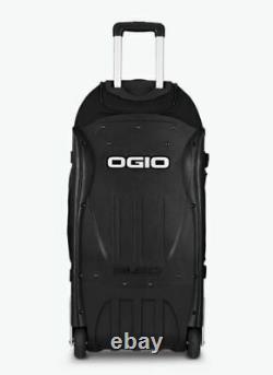 New Ogio Rig 9800 Gear Bag Duffle Rolling Travel Bag, Black 121001-03