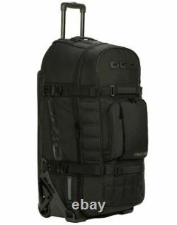 New Ogio Rig 9800 Pro Gear Bag Duffle Rolling Travel Bag, Blackout 801003-01