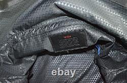 New Tumi Regency Roll Top Weekender Leather Top Carry Handle MSRP $445
